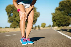 Sports massage knee pain